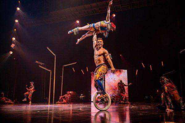 Cirque du Soleil. Photo courtesy of the artists.