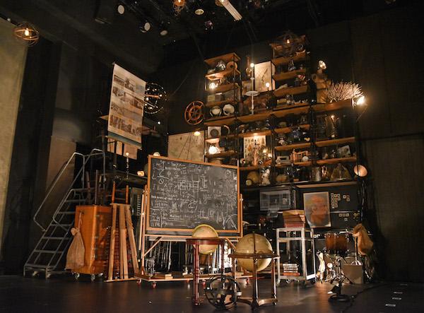 Dr. Frankenstein's laboratory