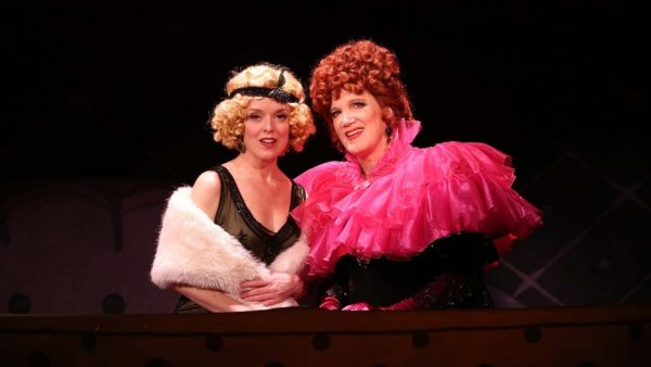 Nancy Anderson and Charles Busch in The Confession of Lily Dare. Credit: Carol Rosegg