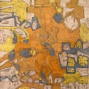 Luchita-Hurtado-Untitled-Yellow-crayon-and-ink-on-paper-c-1950-340x340