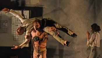 Max Baumgarten as the monster in Frankenstein
