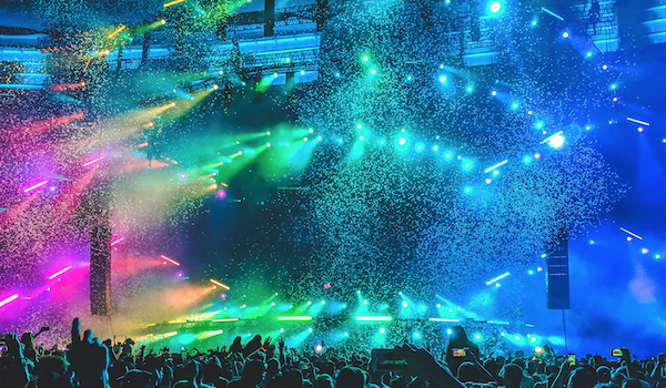 Music concert. Photo by Aditya Chinchure via Unsplash.