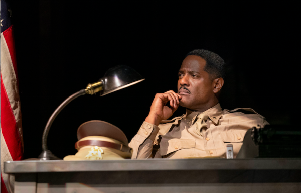 Blair Underwood in A Soldier's Play. Credit: Joan Marcus