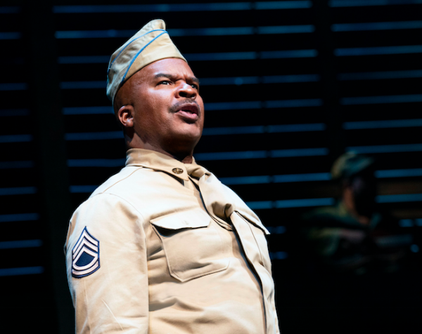 David Alan Grier in A Soldier's Play. Credit: Joan Marcus
