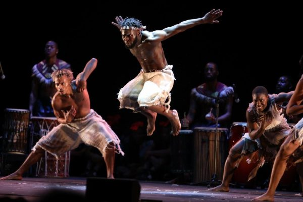 Step Afrika! Photo by Jim Saah.