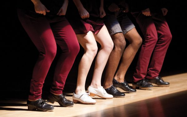 Dorrance Dance. Photo courtesy of the artists.