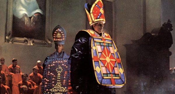 Fellini's Roma-Ecclesiastical fashion show