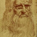 Leonardo's self portrait, 1515