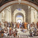 School of Athens by Raphael, at the Vatican