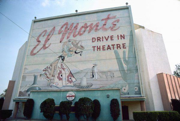 El Monte Drive-In. El Monte (c) Elisa Leonelli 1978