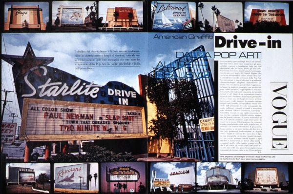 Drive-in Vogue-w