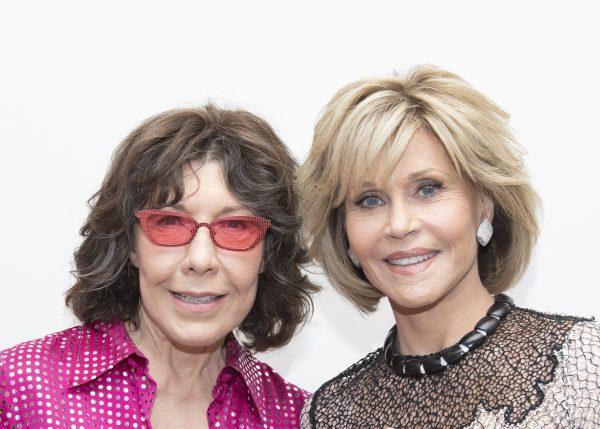 Lily Tomlin, Jane Fonda © Armando Gallo-HFPA