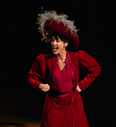 Beth Malone in The Unsinkable Molly Brown. Credit: Carol Rosegg