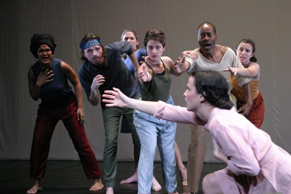 The cast to TheSerpent at the Odyssey Theatre.