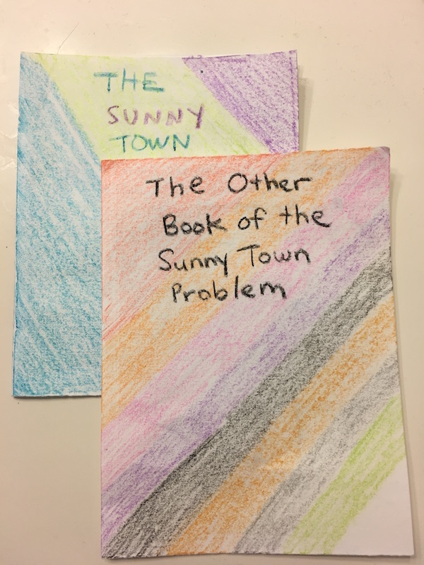 The Sunny Town books by the author's daughter