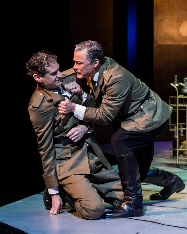 l-r, Jeremy Rabb & Frederick Stuart in Shakespeare's The Winter's Tale at A Noise Within.