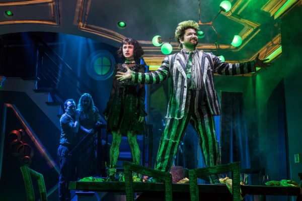 Beetlejuice has officially ended its run at the Winter Garden. Credit: Matthew Murphy