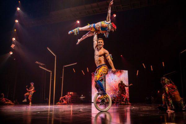 "Cirque du Soleil's ""Volta."" Photo courtesy of the artists."