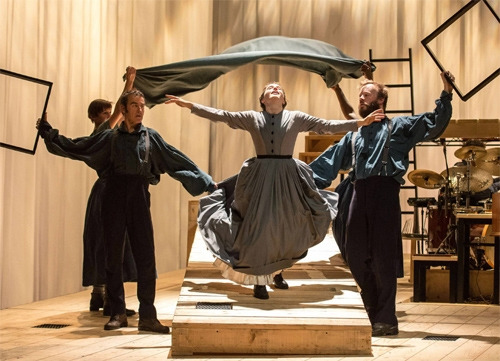 The National Theater's production of Jane Eyre will be available on line on April 9. Credit: Manuel Harlan