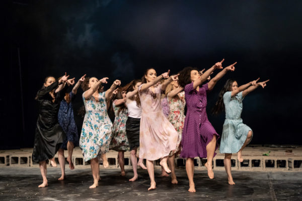 """Tanztheater Wuppertal Pina Bausch's """"Palermo Palermo,"""" Photo by Oliver Look."""