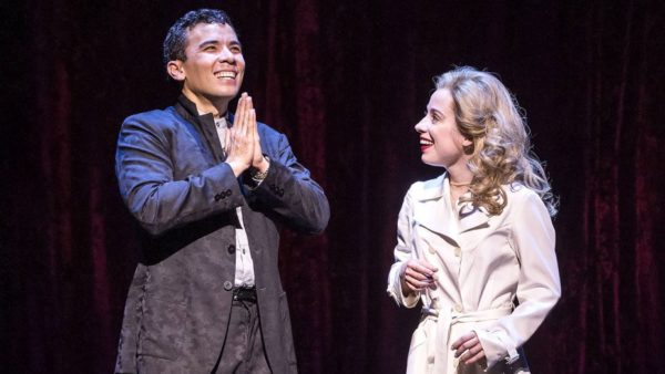 Conrad Rocamora and Alyse Alan Louise in Soft Power, nominated for 11 Drama Desk Awards. Credit: Joan Marcus