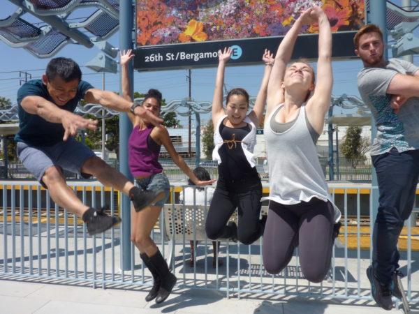 "Donna Sternberg & Dancers' ""Transit Dances."" Photo courtesy of the artists."