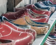 Wooden shoes. Photo by Sander Jeurissen via Unsplash.