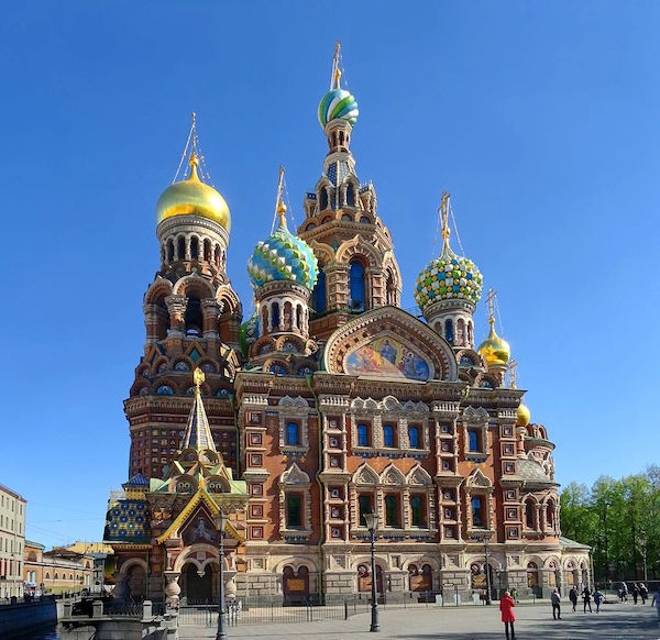 Church of the Savior on Blood | Photo: Je-str, Wikimedia Commons - https://bit.ly/3cmfyrx
