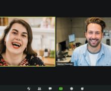 video meeting in progress