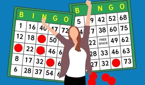 Bingo wins illlustration