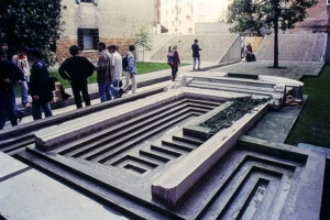 Venice - School of Architecture - Entrance Gate - © R&R Meghiddo, 1996. All Rights Reserved.