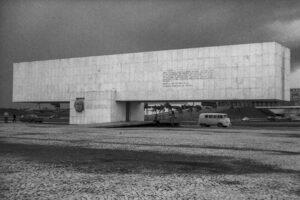 Brasilia - President Kubitschek Monument, 1960. Architect: Oscar Niemeyer