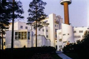 Paimio Sanatorium, 1933. Architect: Alvar Aalto