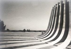 Jerusalem - Kennedy Memorial, 1966. Architect: David Resnick