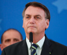 Brazil's president Jair Messias Bolsonaro by Alan Santos/PR via Flickr