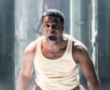 LES BLANCS by Hansberry, , Writer - Lorraine Hansberry, Director- Yaël Farber , Design - Soutra Gilmour, Lighting - Tim Lutkin, Movement - Imogen Knight, The National Theatre, 2016, Credit: Johan Persson/