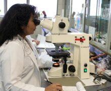 Laboratory and technician