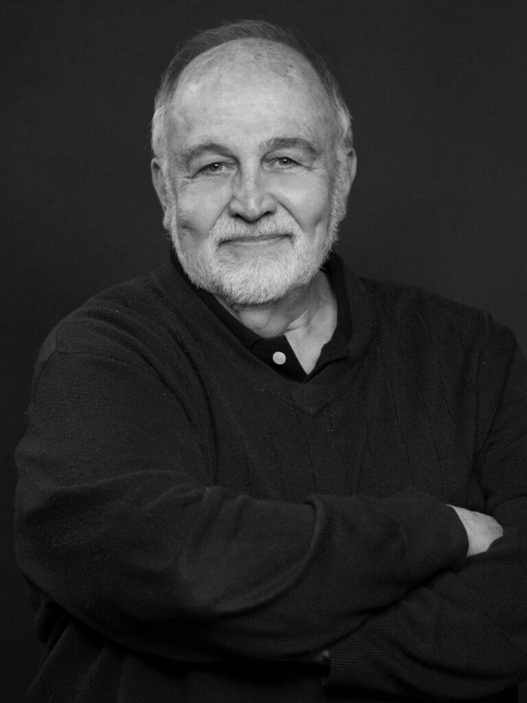 Jack Grapes. Portrait photo by Alexis Rhone Fancher, 2019.