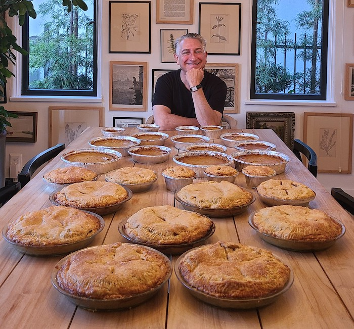 a lot of pies