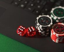 Online casino game.