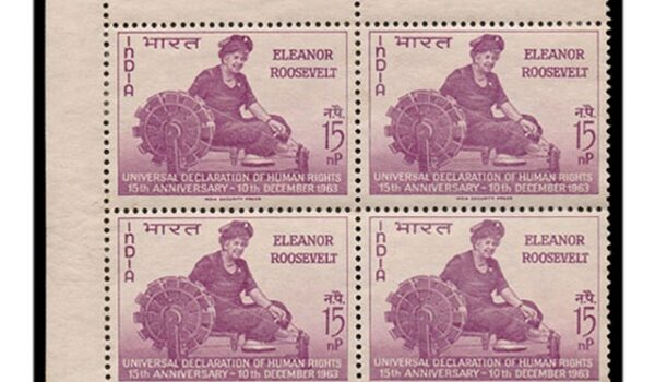 Eleanor Roosevelt stamps.