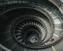Stairway spiral